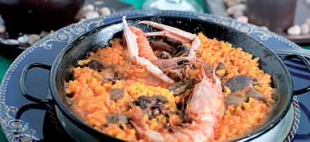 Restaurant el Niu del Mesón arroz sueca arroceando