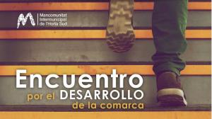 Encuentro por el desarrollo de la comarca de l'Horta Sud