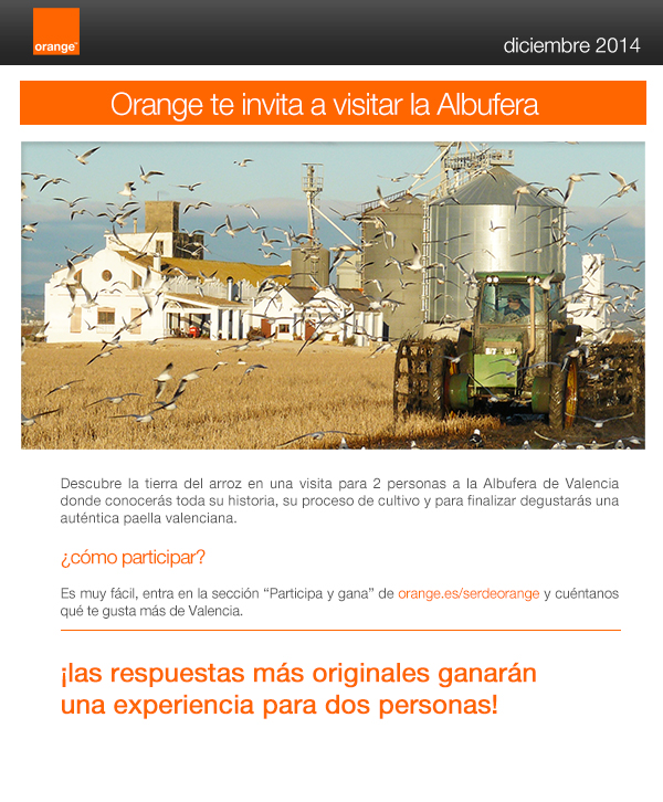Arroz Tartana y Orange te llevan a visitar l'Albufera 2