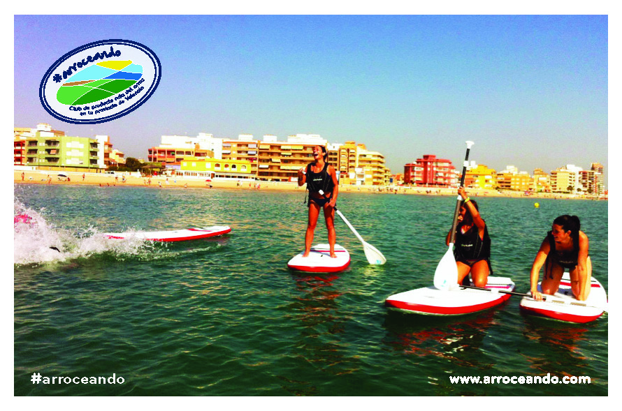 Paddle Surf en la playa de la Albufera