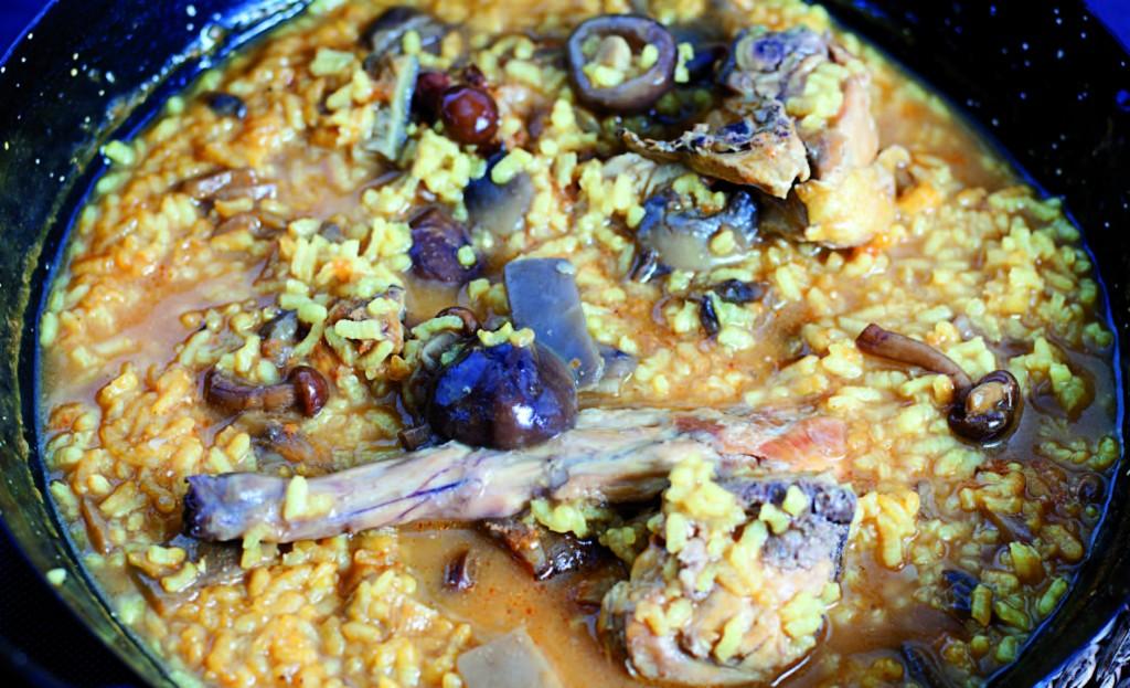 Restaurante Nas de Suro ruta del arroz sueca arroceando