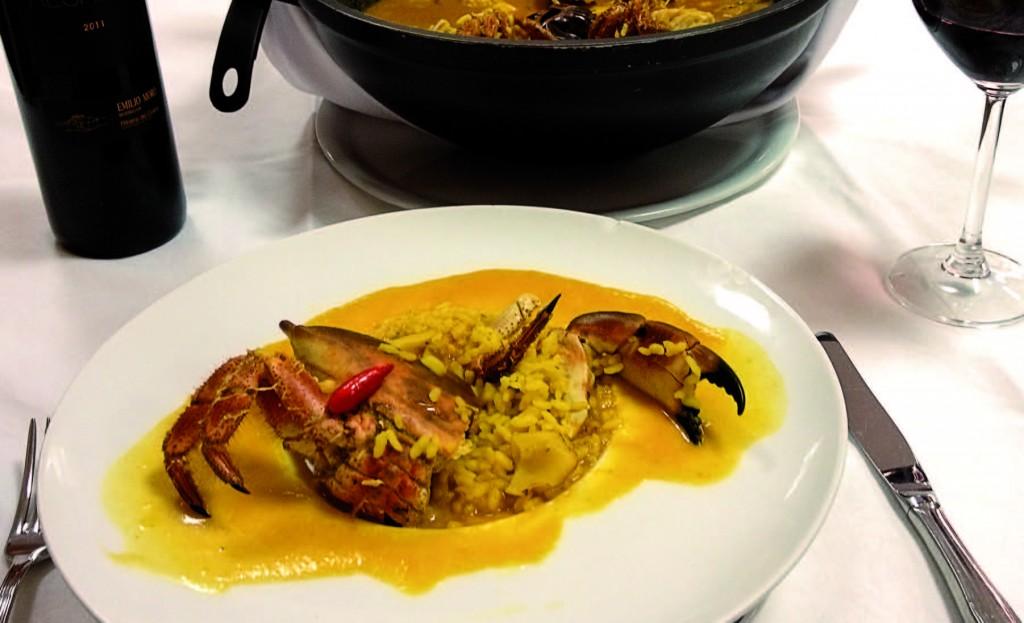 Restaurante Casa Jerónimo ruta del arroz sueca arroceando